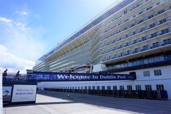 Celebrity Eclipse at Dublin Port