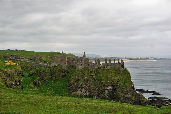 Dunluce Castle Belfast, Northern Ireland
