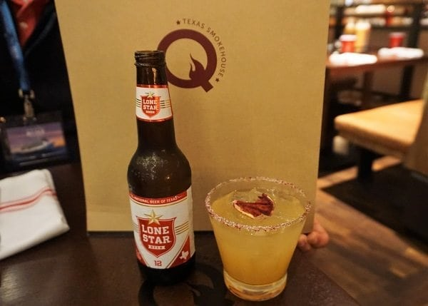 Drinks at Q Texas Smokehouse on Norwegian Bliss