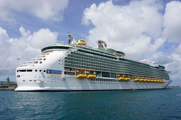 Mariner of the Seas in Nassau Bahamas