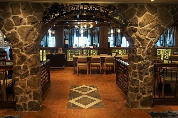 Cellars Wine Bar on Norwegian Bliss