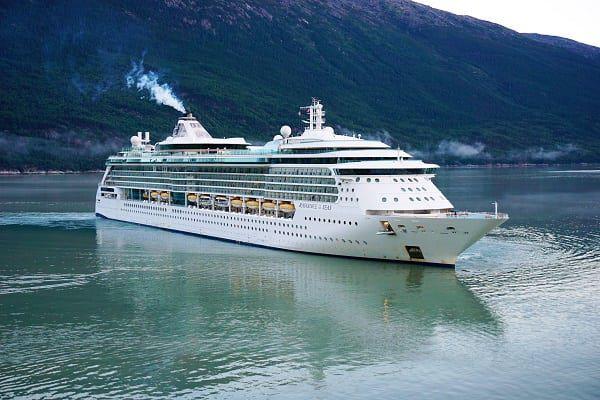 Radiance of the Seas in Alaska