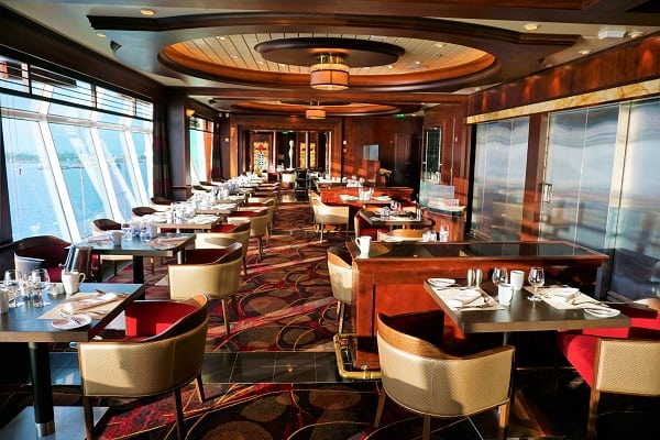 Inside Chops Grille on Mariner of the Seas