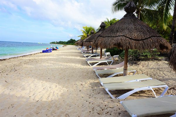 Beach at Nachi Cocom in Cozumel, Mexico
