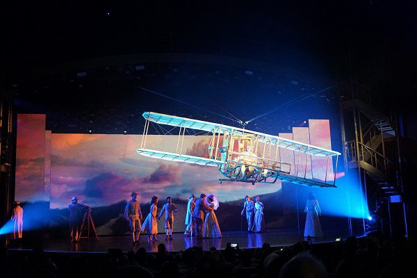 Flight on Symphony of the Seas