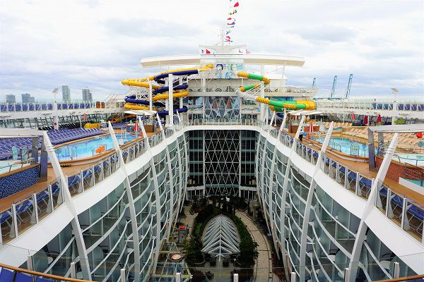The Perfect Storm on Symphony of the Seas