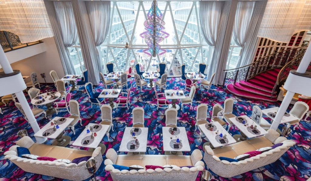 Symphony of the Seas Restaurants and Guide