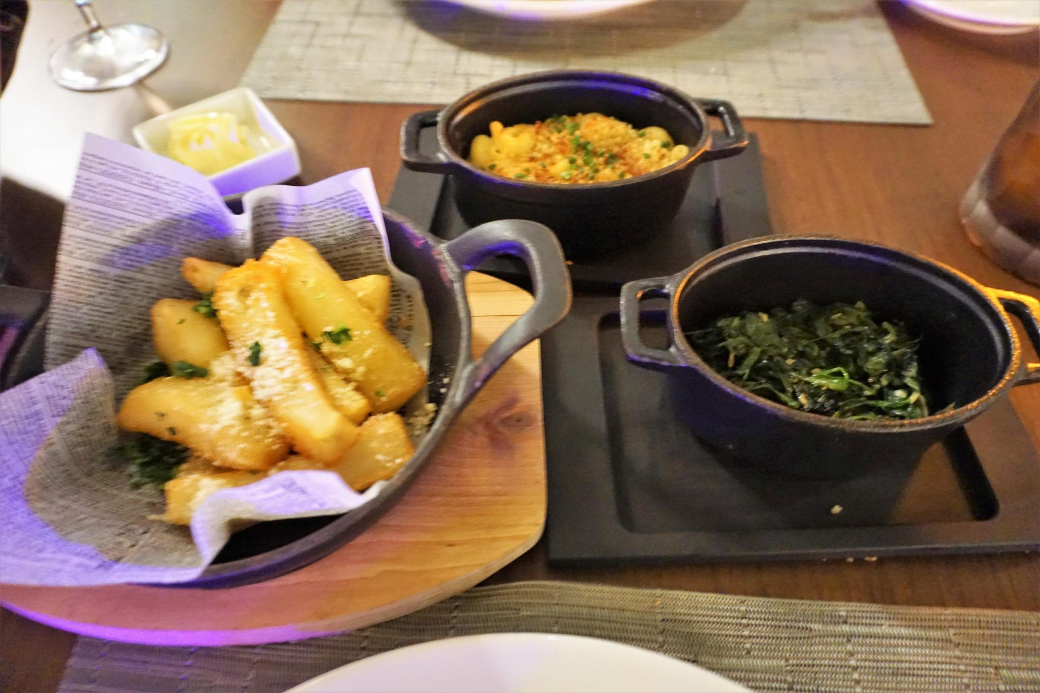 Side Dishes Fine Cut Steakhouse on Celebrity Edge
