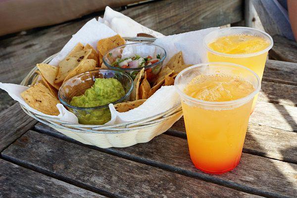 Maya Chan Beach Welcome Drinks