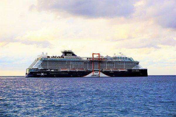Celebrity Edge Docked in Grand Cayman