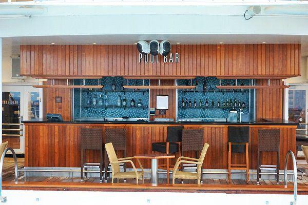 Pool Bar on Windstar Cruises Wind Surf