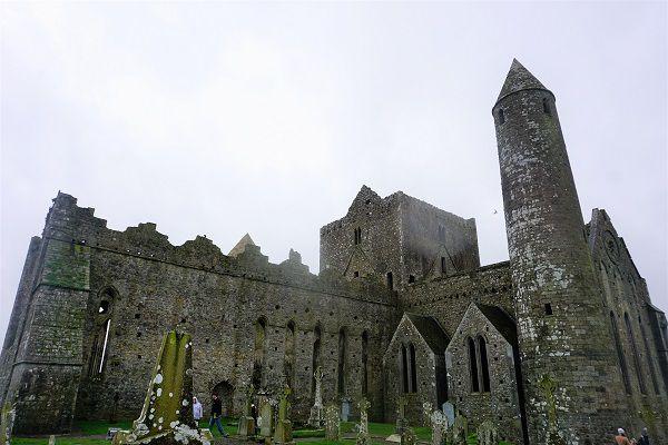 Backside of the Rock of Cashel