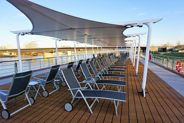 Sun Deck on Viking Einar