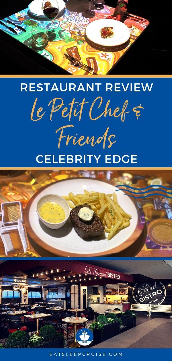 Celebrity Edge Le Petit Chef and Friends