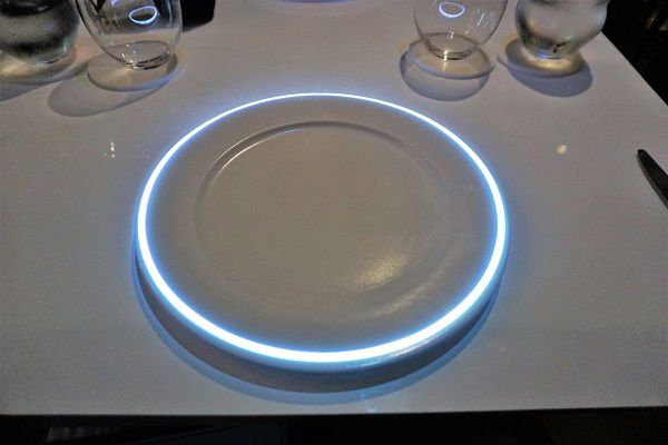 Table Setting on Celebrity Edge Le Petite Chef and Friends