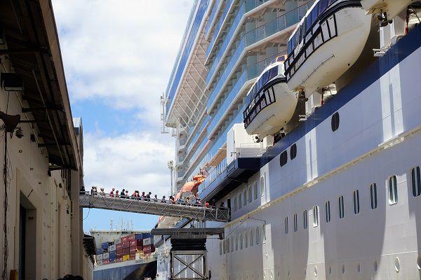 Celebrity Solstice Ship Scorecard Review Embarkation