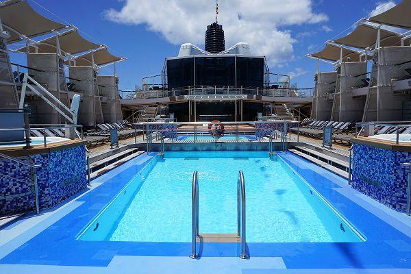 Pool Deck on Celebrity Solstice