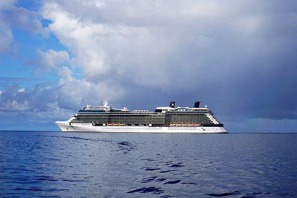 Celebrity Solstice docked in Maui