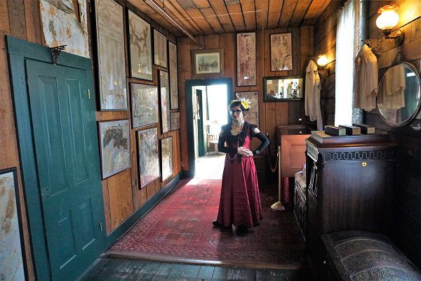 Inside the Red Onion Saloon