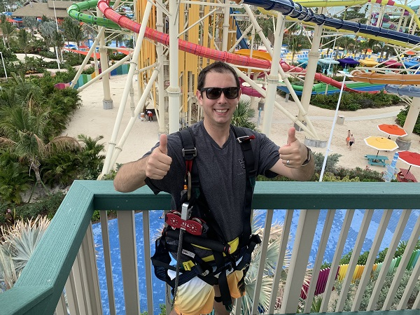 Perfect Day at CocoCay Zipline Review