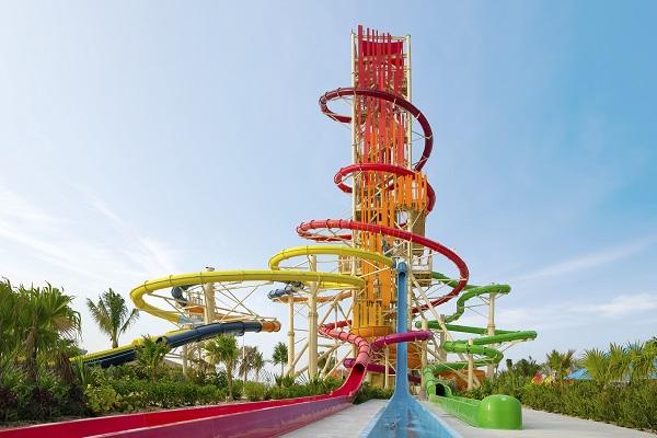 Daredevil's Tower Waterslides Thrill Waterpark