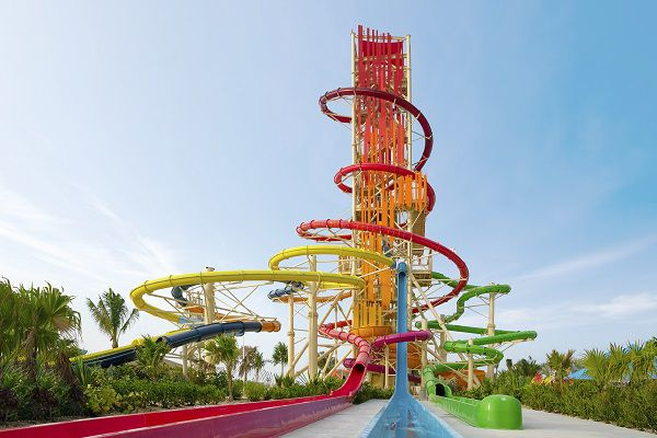Daredevil's Tower Waterslides Thrill Waterpark