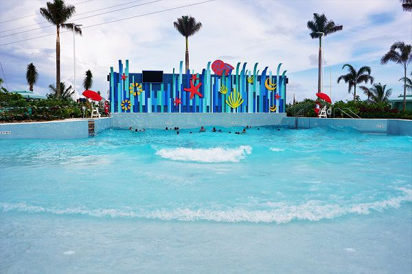 Wave Pool at Thrill Waterpark at Perfect Day at CocoCay