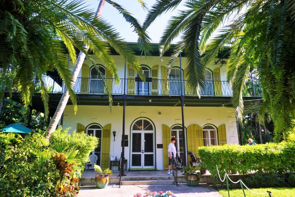 Ernest Hemingway Home and Museum in Key West Florida