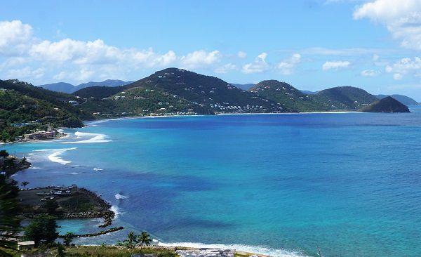 Views from Sir Francis Drake Highway Tortola British Virgin Islands