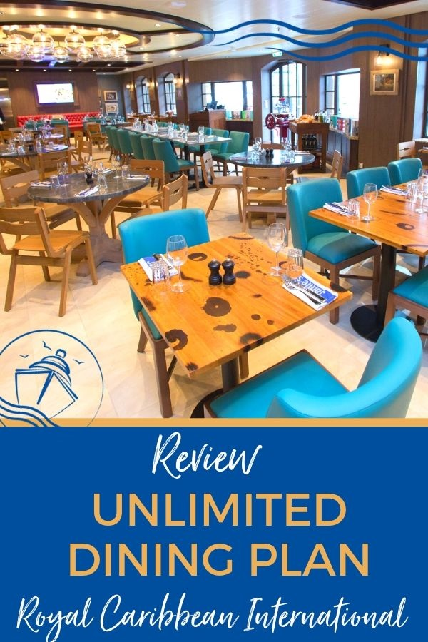 Review of Royal Caribbean Dining Plan