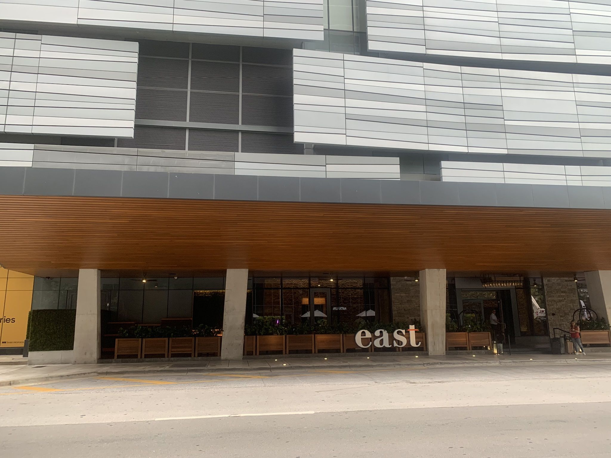 Entrance to East Miami