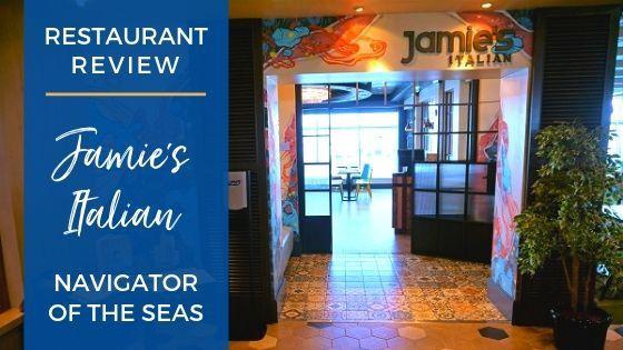 Jamie's Italian on Navigator of the Seas Review