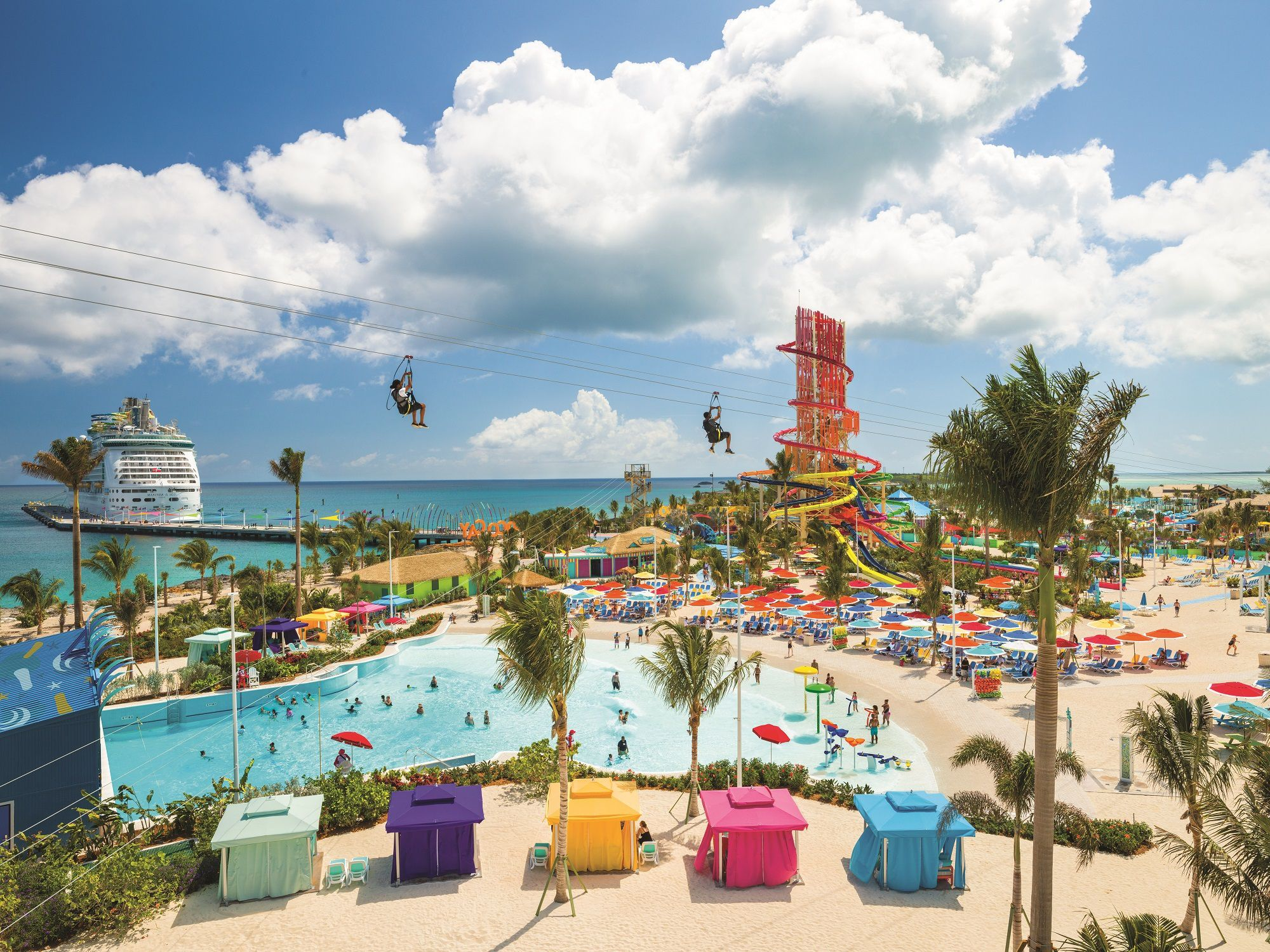 Perfect Day at CocoCay Ziplines