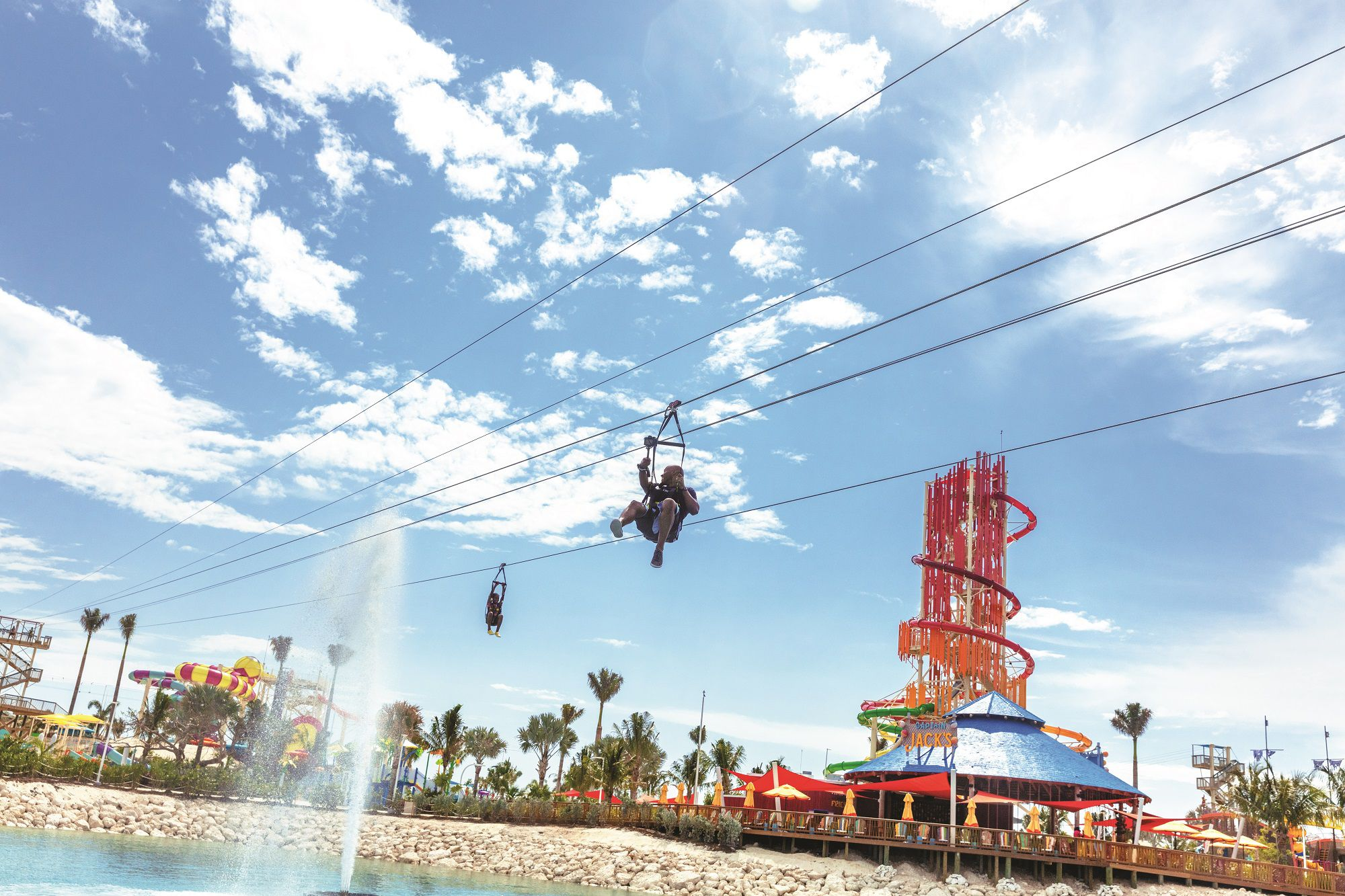 Zipline on Perfect Day at CocoCay