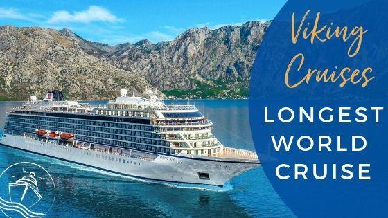 Viking Cruises Sets Sail on the Longest World Cruise