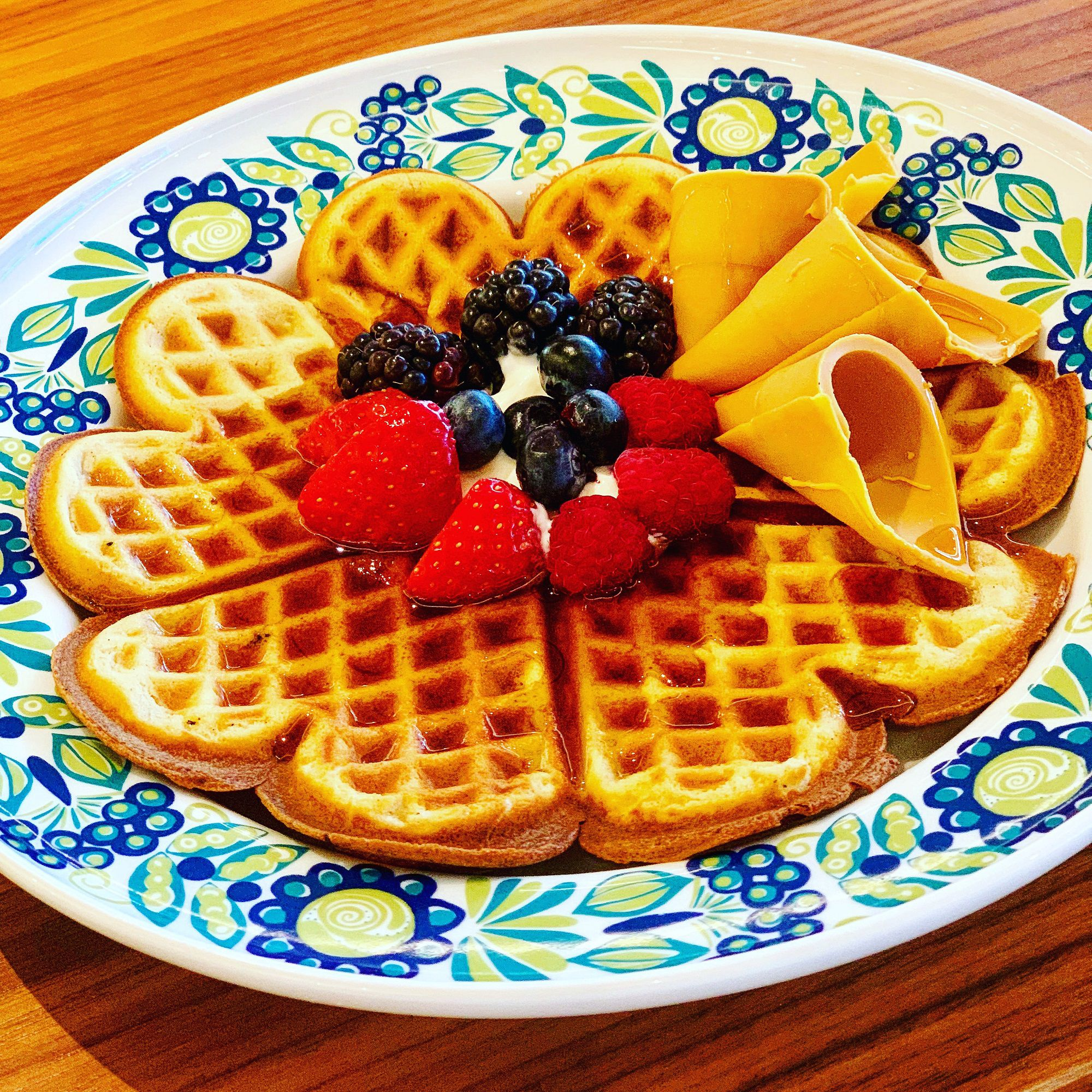 Mamsens Waffles on Viking Jupiter