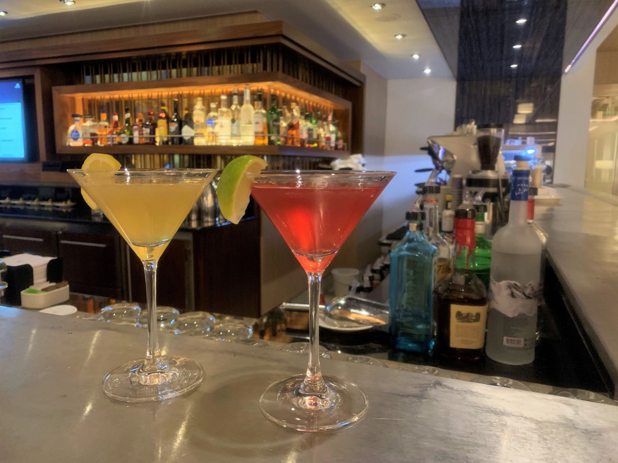Viking Bar Cocktails on Viking Jupiter