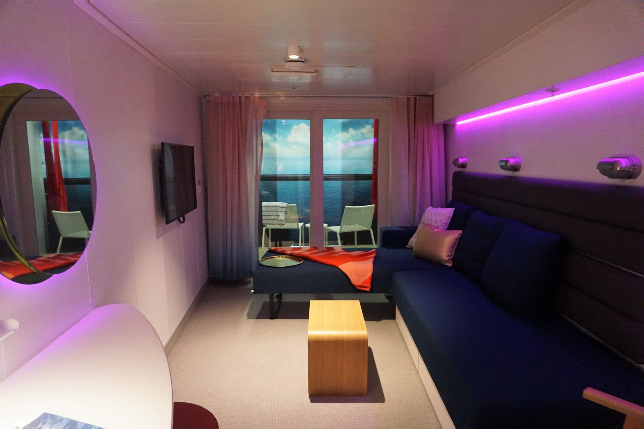 Exclusive Look at Virgin Voyages Cabins