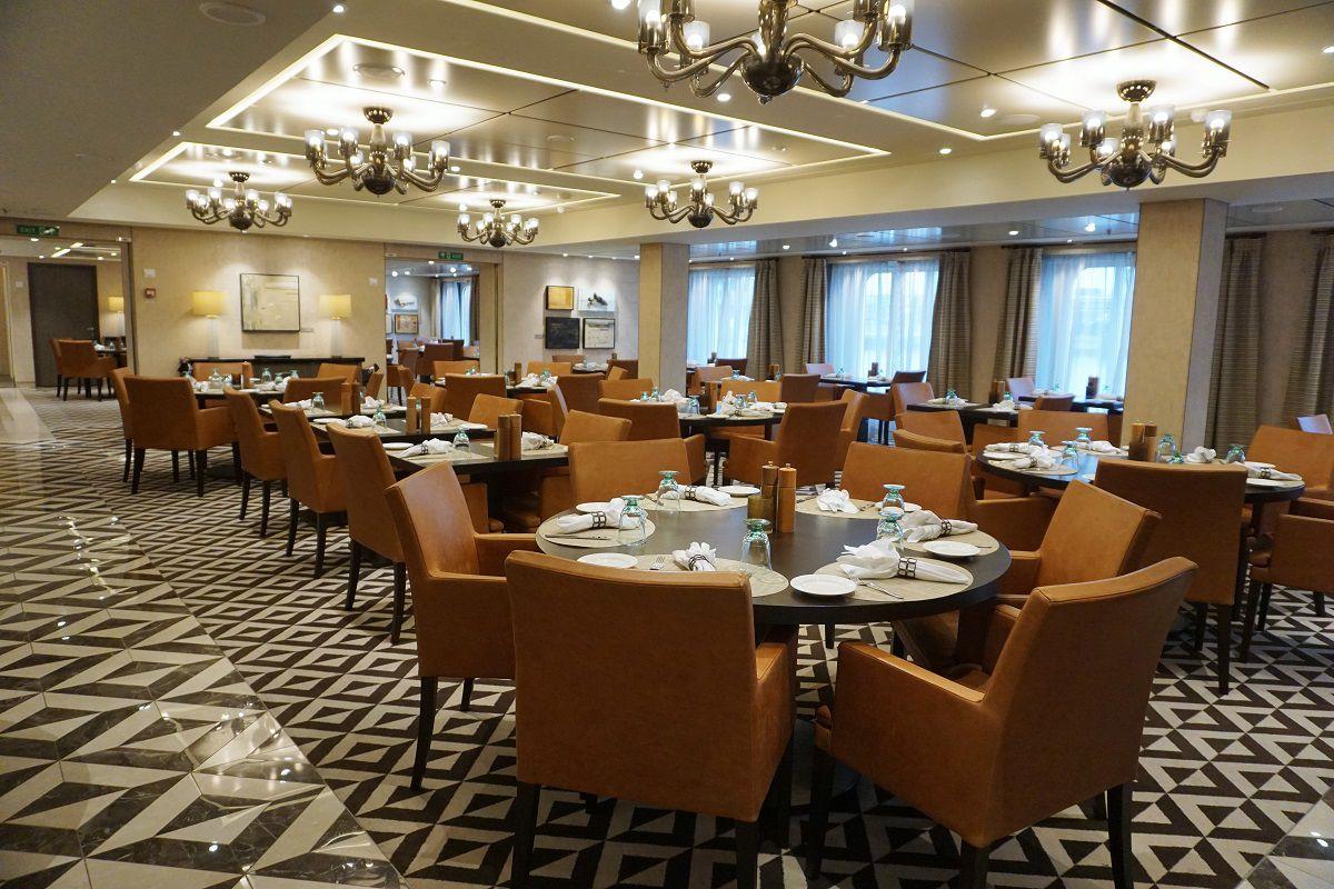 Manfredi's Italian Restaurant on Viking Ocean Cruises Review