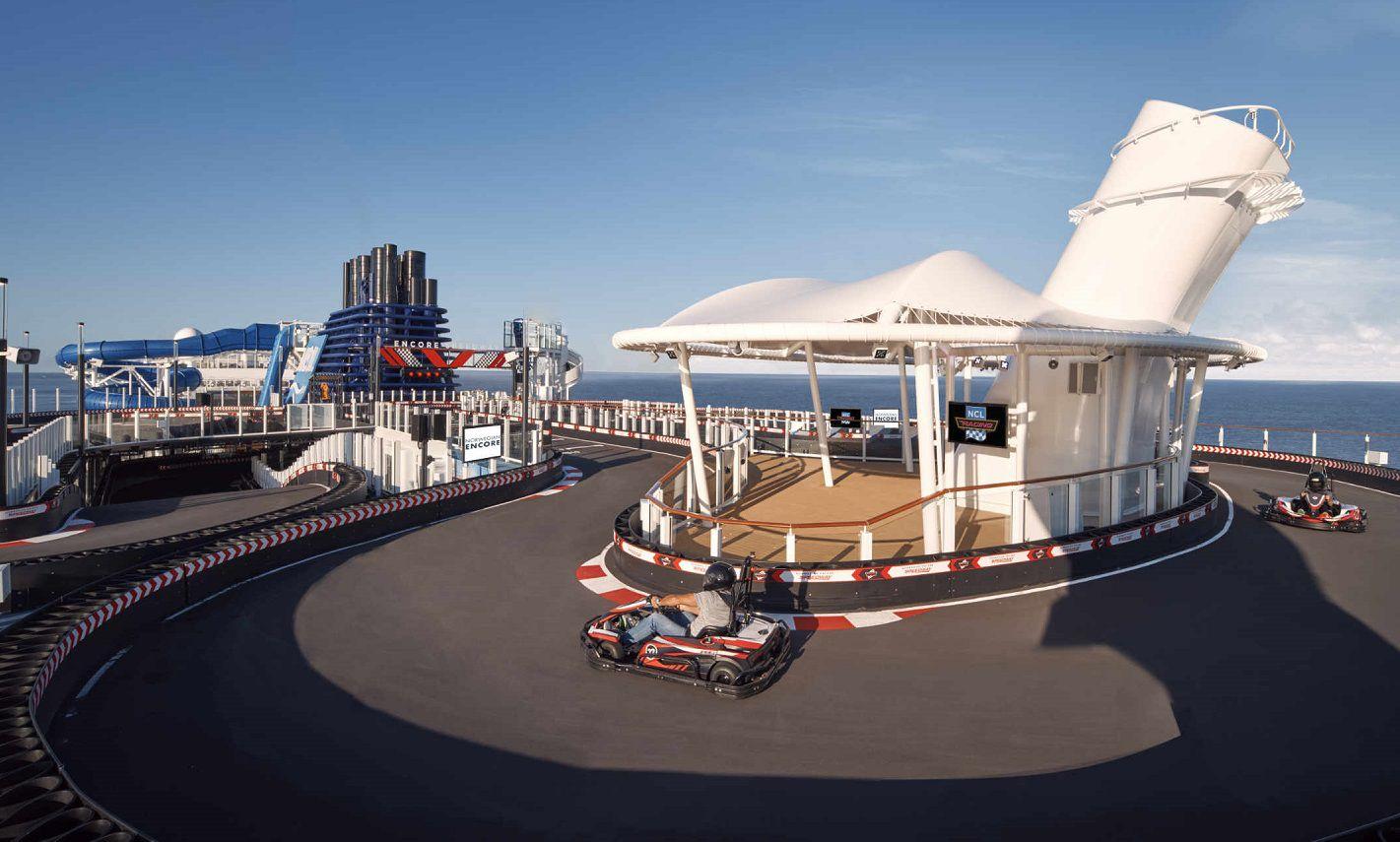 Norwegian Encore Racetrack