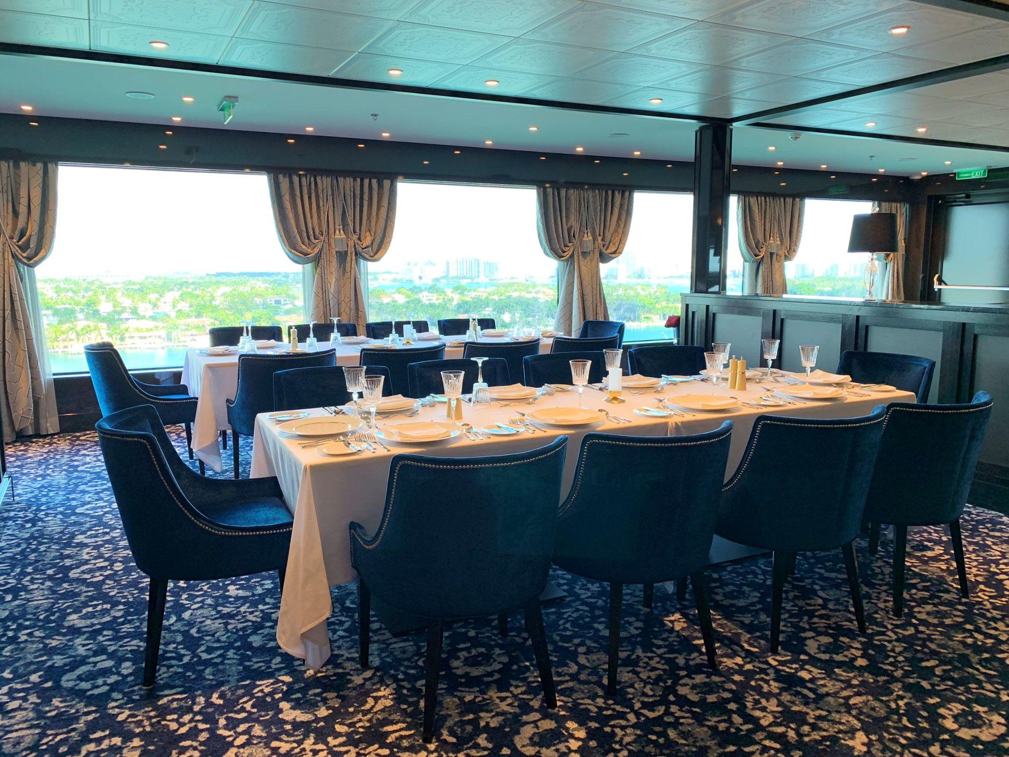 Norwegian Encore Restaurant Menus and Dining Guide