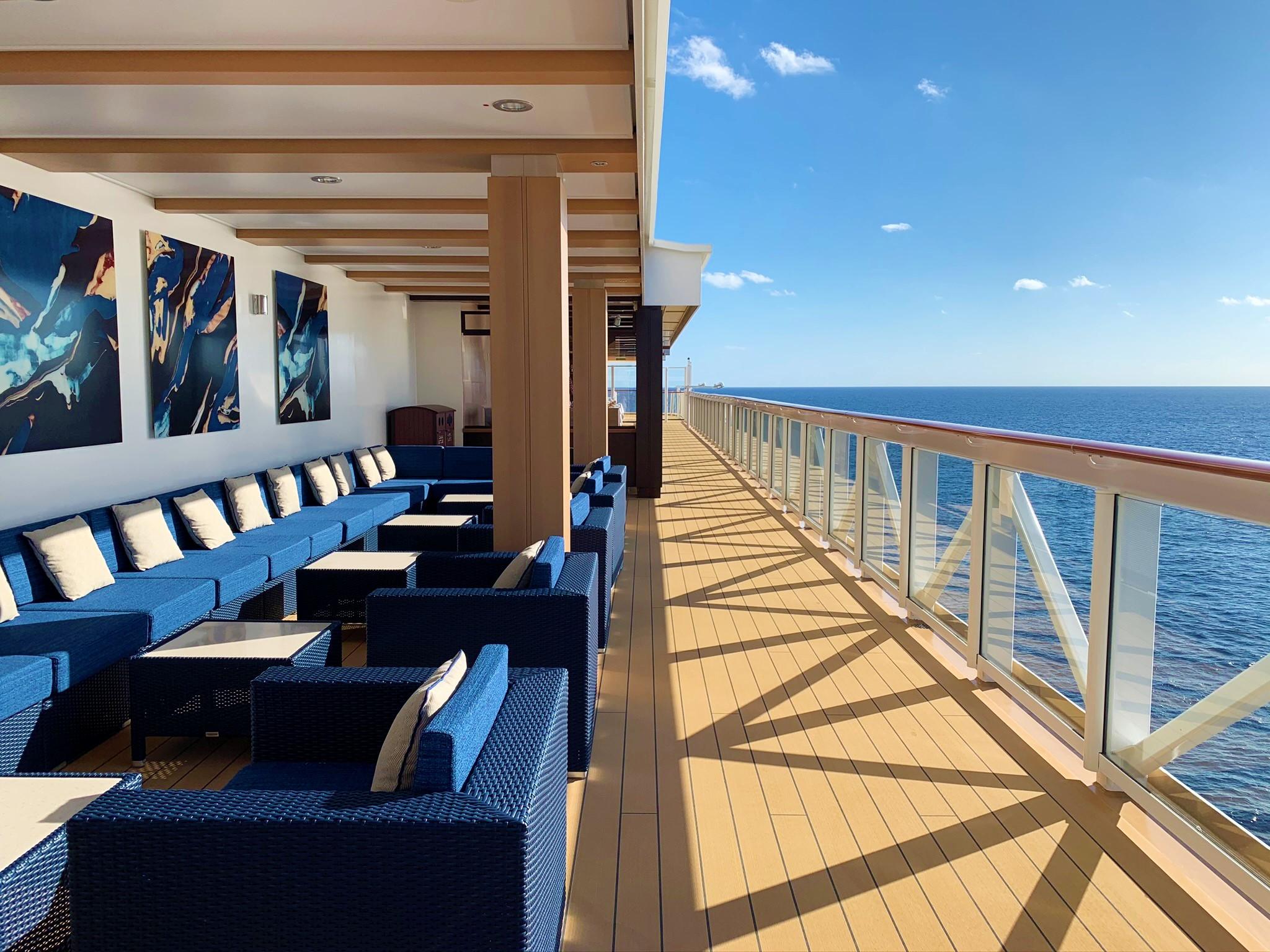 Norwegian Cruise Line's Waterfront