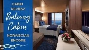 Norwegian Encore Balcony Review