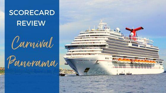 Carnival Panorama Ship Scorecard Review