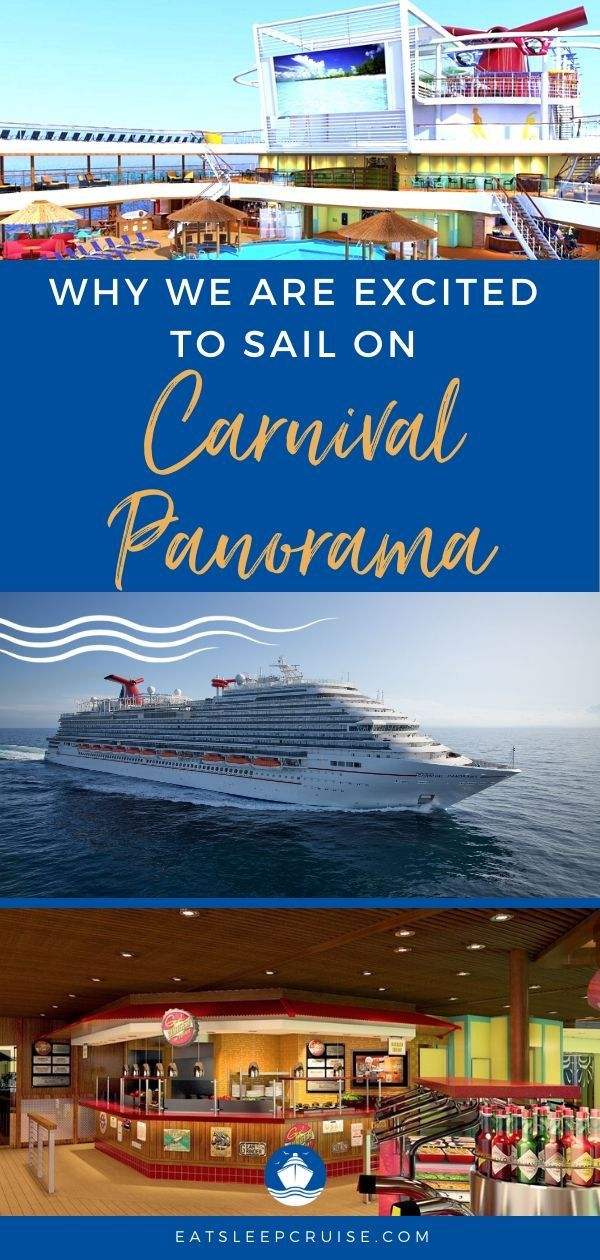 Excited to Sail on Carnival Panorama