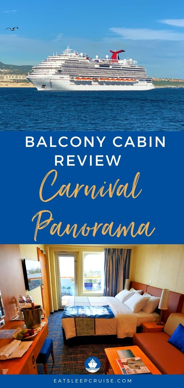 Review of a Balcony Cabin on Carnival Panorama
