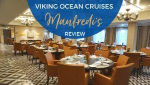 Manfredi's Italian Restaurant on Viking Ocean Cruises