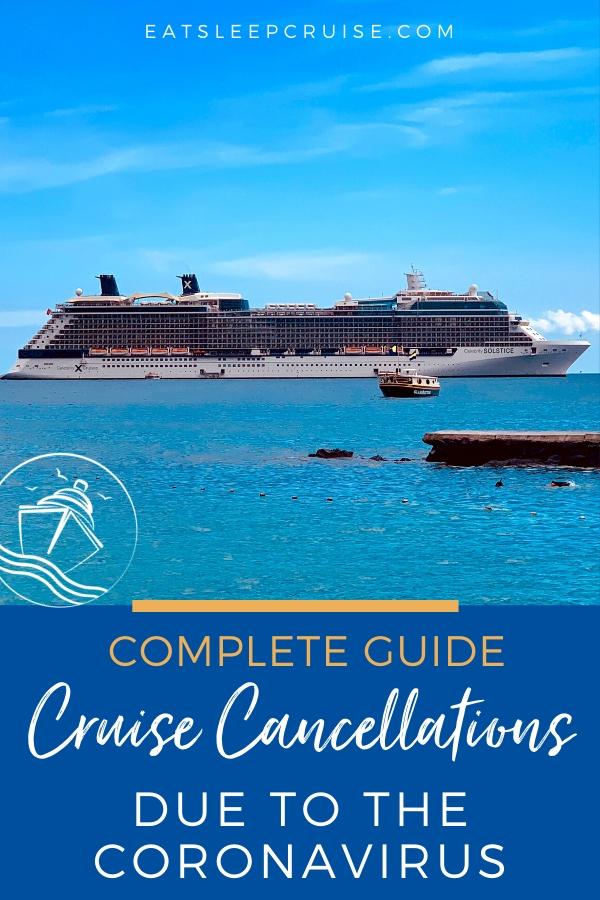Cruise Cancellations due to the Coronavirus