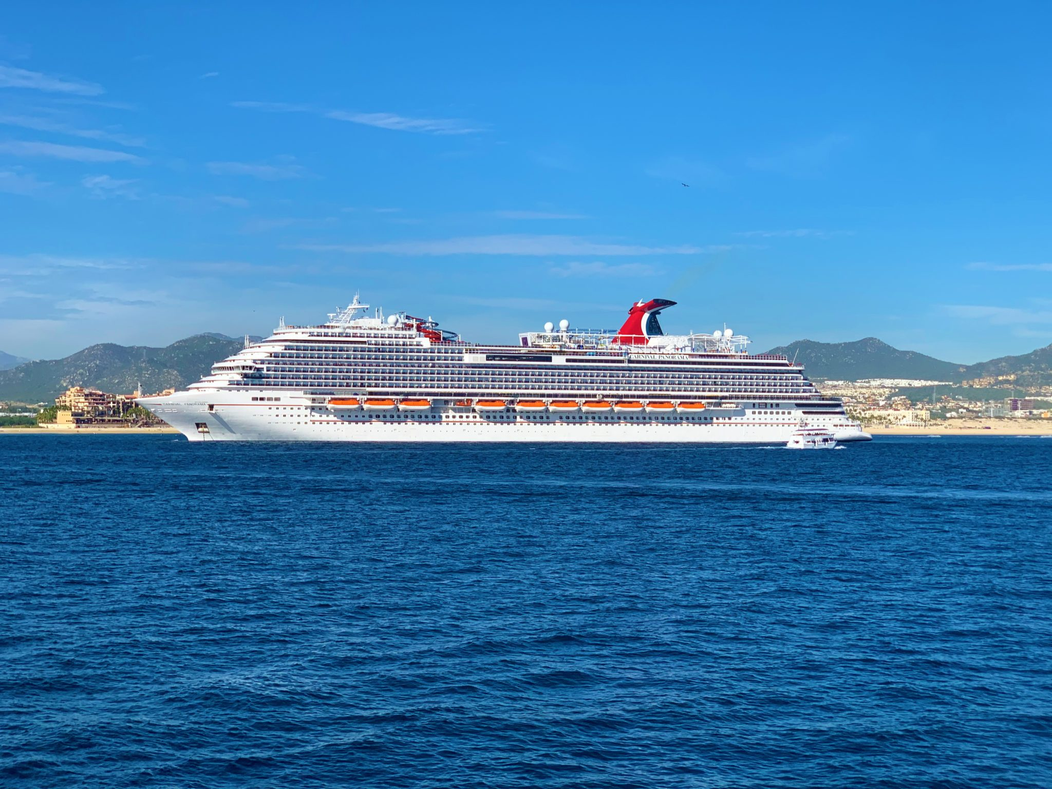 Cruise Ships Located During Cruise Suspension