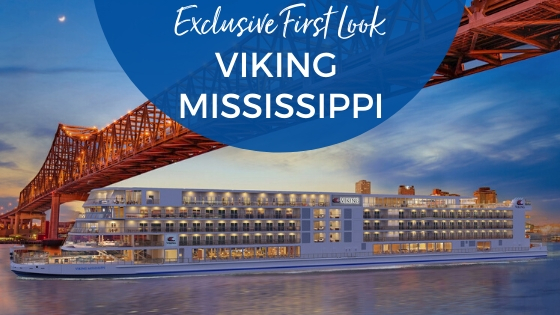 Details Announced for Viking's New Mississippi River Cruises